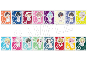 「JAZZ-ON! × OIOI Limited Shop」トレーディングミニキャラアクリルスタンド White day ver.(全16種)
