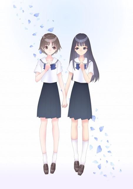 TVアニメ「BLUE REFLECTION RAY/澪」ビジュアル