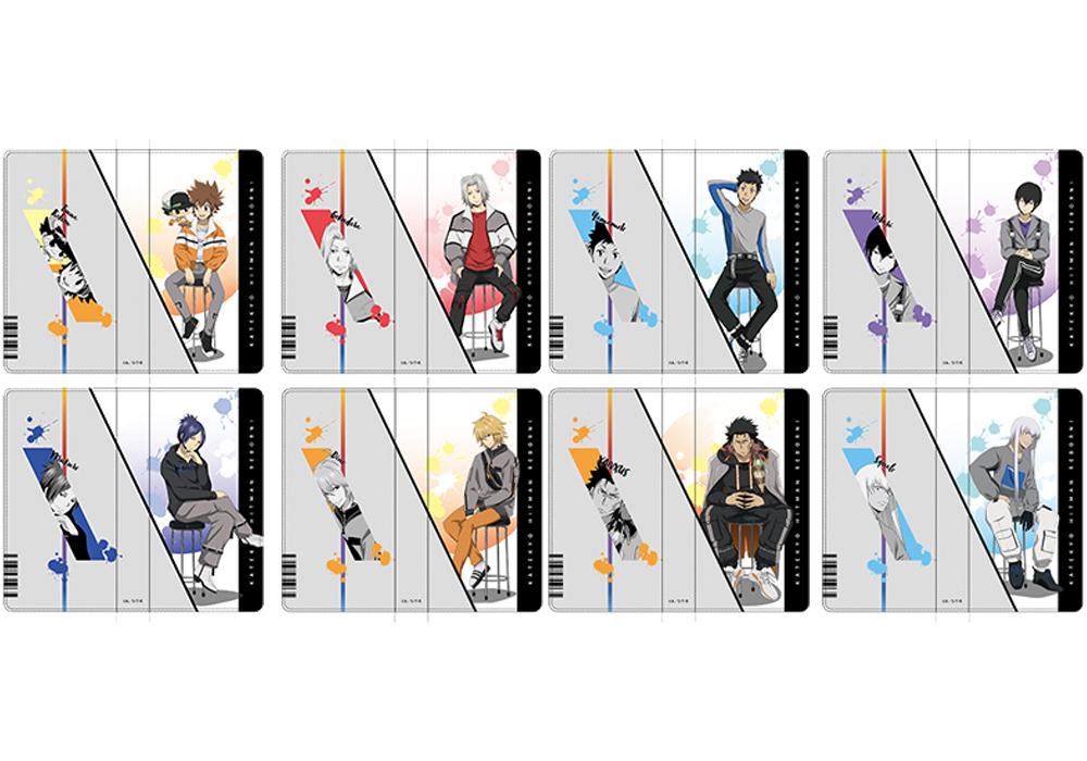 「家庭教師ヒットマンREBORN!×THEキャラSHOP」手帳型スマホケース 描き下ろし ver.(全8種)