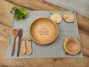 「カービィカフェ ザ・ストア」木製食器