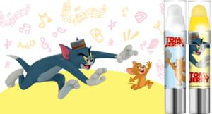 「レブロン キス シュガー スクラブ」×映画「トムとジェリー」限定コラボパッケージ