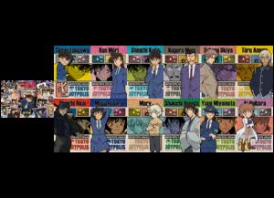「名探偵コナン in JOYPOLIS 湾岸の楽園都市」カーニバルゲーム 参加賞:トレーディングポストカードA(全13種)