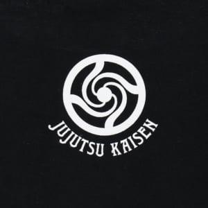 呪術廻戦 ハンドグラフィックTシャツ 黒ver バックデザイン