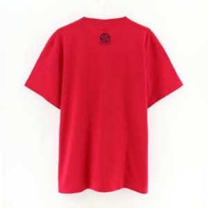 呪術廻戦 ハンドグラフィックTシャツ 赤ver 裏