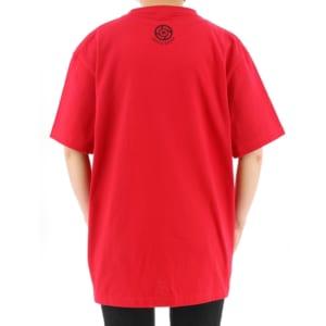 呪術廻戦 ハンドグラフィックTシャツ 赤ver 着用イメージ 後ろ