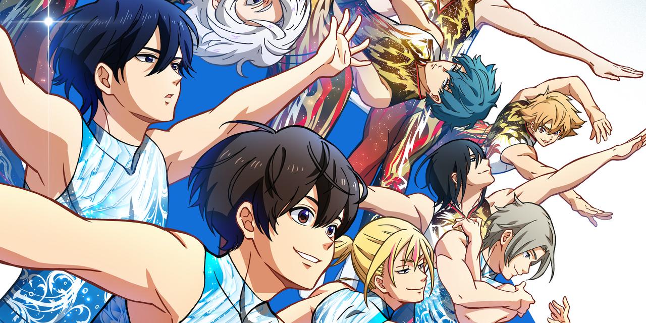TVアニメ「バクテン!!」ユニフォーム姿の新ビジュアル&第4弾PV公開!大迫力の新体操シーンがついに解禁