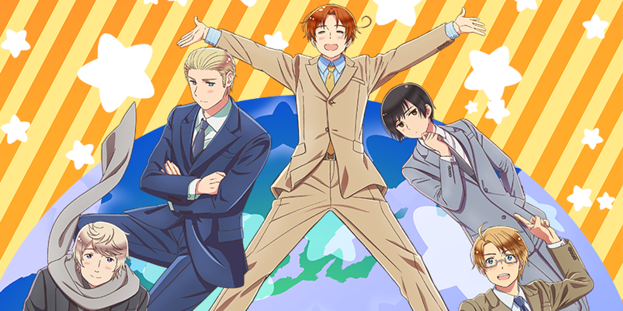 アニメ「ヘタリア」キャラソン&ドラマが発売決定!Vol.1はイタリア・ドイツ・日本、豪華版には缶バッジが付属