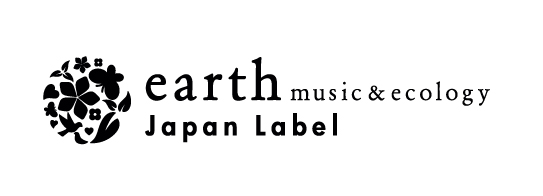 「earth music & ecology Japan Label」ロゴ