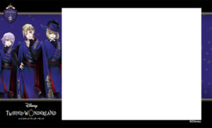 プリ機「EMMYCHUU」×「ディズニー ツイステッドワンダーランド」オリジナルシールふちデザイン第2弾 ポムフィオーレ