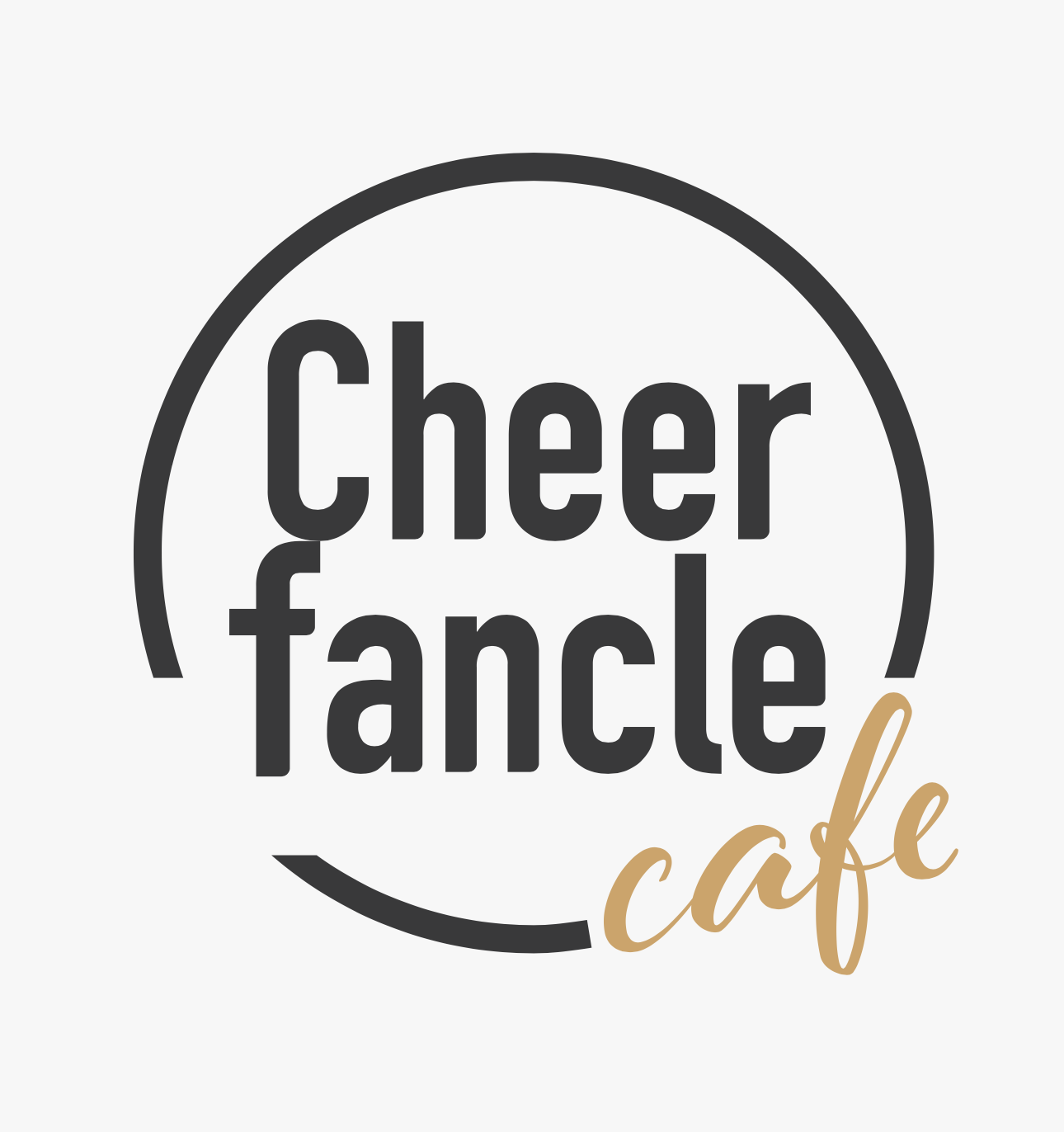 「Cheer fancle cafe」ロゴ
