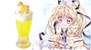 種村有菜先生 ×「アニメイトカフェ」コラボ第2弾 ドリンクメニュー Merry go round