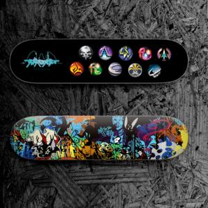 TVアニメ「すばらしきこのせかい The Animation」UG SHIBUYA FES「ワールドプレミア」限定特典グッズ:アートスケートボード(ワールドプレミア限定デザインver.)