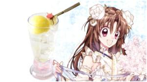 種村有菜先生 ×「アニメイトカフェ」コラボ第2弾 ドリンクメニュー 血桜封印 ~月の姫の役目~