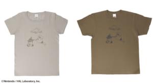 「カービィカフェ ザ・ストア」Tシャツ パスタ2種(グレー/オリーブ)