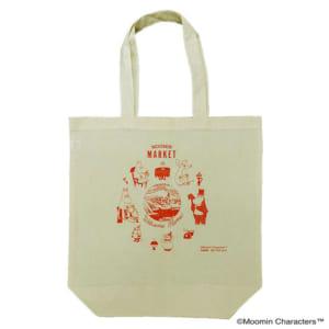 「ムーミンマーケット2021」お買い上げプレゼント:トートバッグ