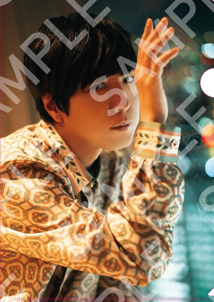 「TVガイドVOICE STARS Dandyism vol.2」アニメイト購入特典クリアファイル(表)