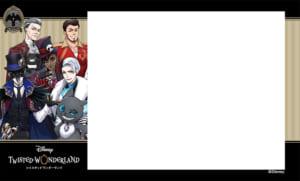 プリ機「EMMYCHUU」×「ディズニー ツイステッドワンダーランド」オリジナルシールふちデザイン第2弾 ナイトレイブンカレッジ