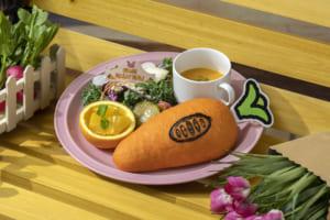 「ズートピア」OH MY CAFE <ジュディ>故郷のお野菜たっぷり!?サンドウィッチプレート