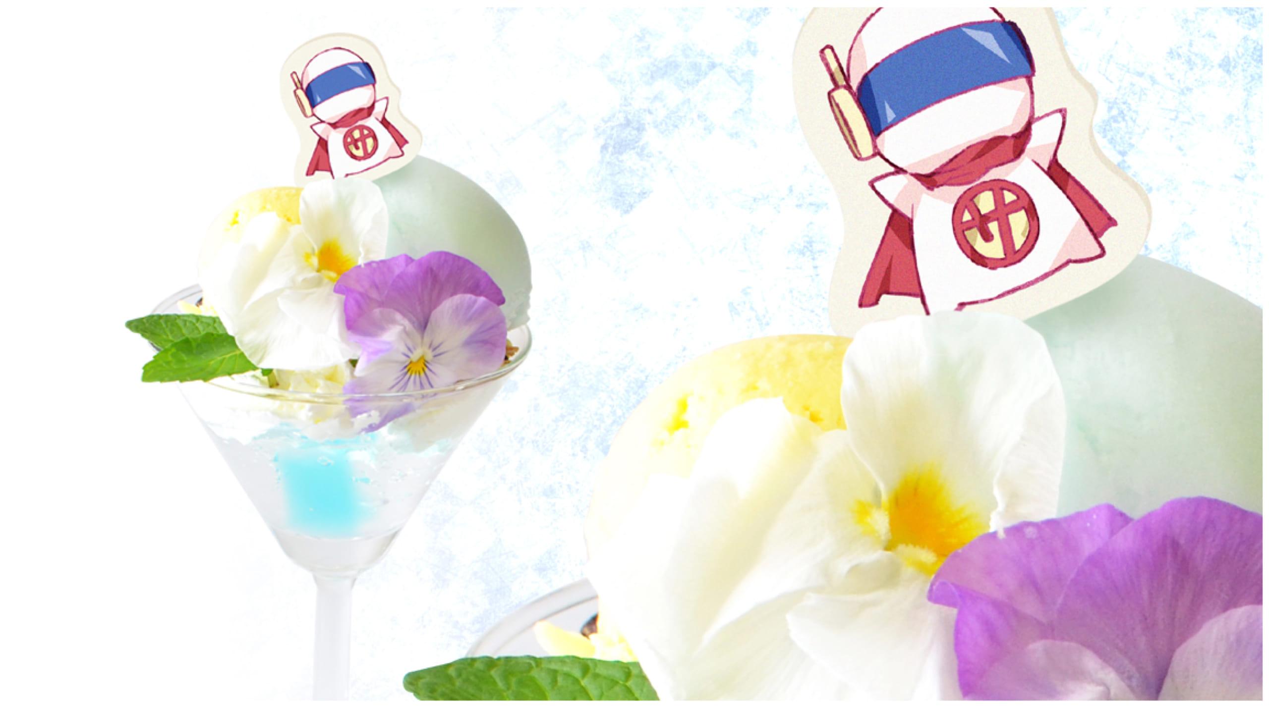 種村有菜先生 ×「アニメイトカフェ」コラボ第2弾 フードメニュー 依音の超能力パフェ ~サイコマンを浮かそう!~