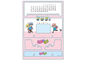 「ミルモでポン!」×「THEキャラSHOP」アクリル万年カレンダー