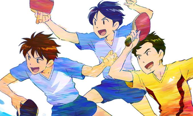 「アニ×パラ」第12弾・パラ卓球で小説「チームふたり」初アニメ化!キャストに神木隆之介さん、下野紘さん、梶裕貴さんが抜擢