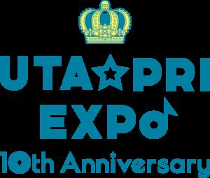「UTA☆PRI EXPO-10th Anniversary-」ロゴ