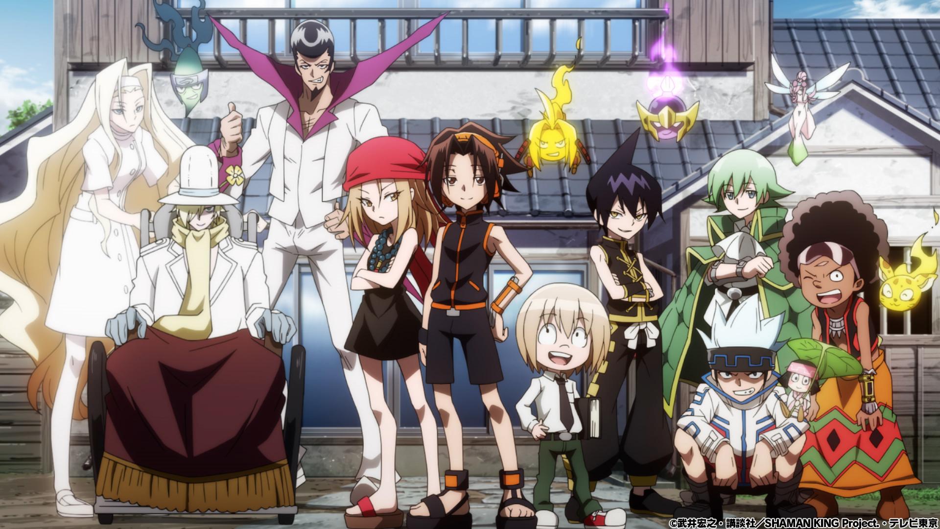TVアニメ「SHAMAN KING」ノンクレジットOP公開!林原めぐみさんが歌う「Soul salvation」配信開始