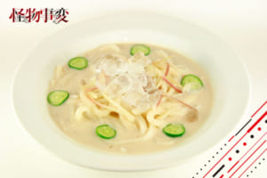 「TOWER RECORDS CAFE × 怪物事変」クラッシュアイス入り冷や汁うどん