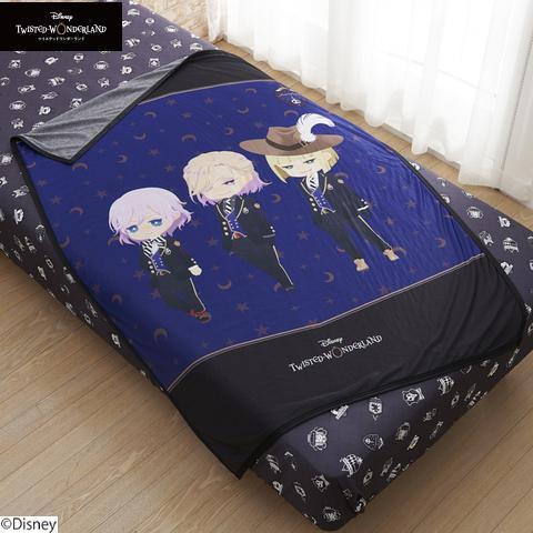 推しキャラに包まれて睡眠の質向上「ツイステ×しまむら」デフォルメキャラが描かれた寝具がキュート