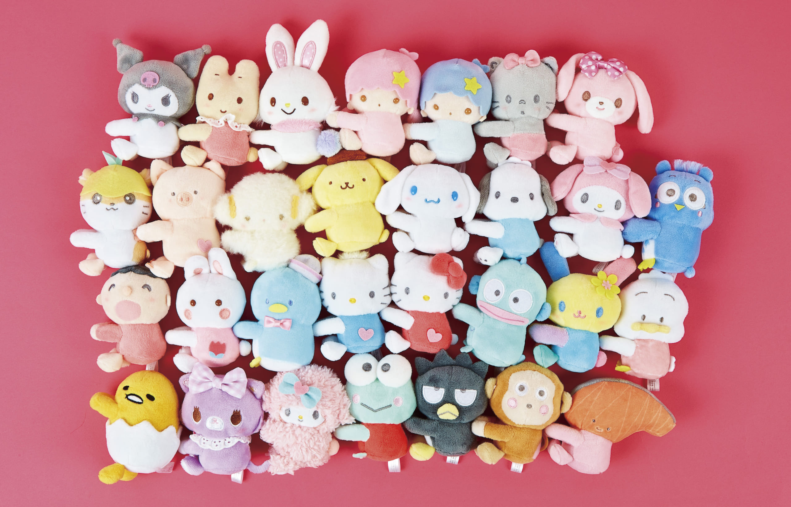 「サンリオキャラクター大賞」を応援できる商品シリーズ発売決定!グッズ化が久しぶりとなるキャラクターも多数