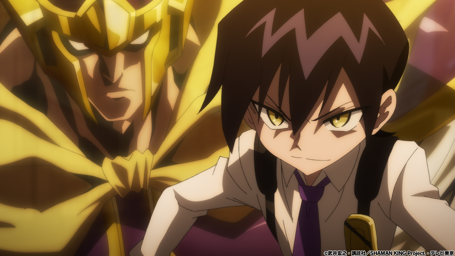 TVアニメ「SHAMAN KING」第2廻 「もう一人のシャーマン」先行カット
