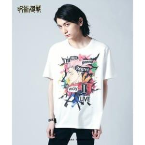 「呪術廻戦」×「glamb」Itadori T 白・着用イメージ