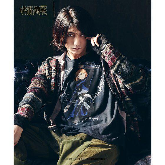 「呪術廻戦」×「glamb」Kugisaki T 黒・着用イメージ