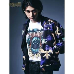 「呪術廻戦」×「glamb」Sukuna long sleeves T 着用イメージ+ジャケット