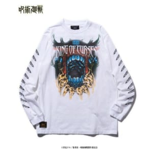 「呪術廻戦」×「glamb」Sukuna long sleeves T 白