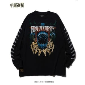「呪術廻戦」×「glamb」Sukuna long sleeves T 黒
