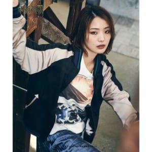 「呪術廻戦」×「glamb」Fushiguro reversible ska JKT 裏・着用イメージ