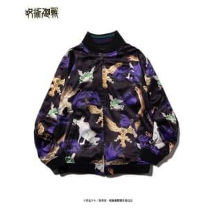 「呪術廻戦」×「glamb」Fushiguro reversible ska JKT 表・正面