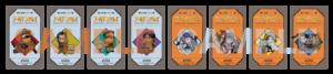 TVアニメ「ゴールデンカムイ」×「あにばーさるカフェ」フード注文特典:オリジナルミニカード