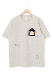 「すみっコぐらし×グラニフ」こんなおうちにすみたいなTシャツ