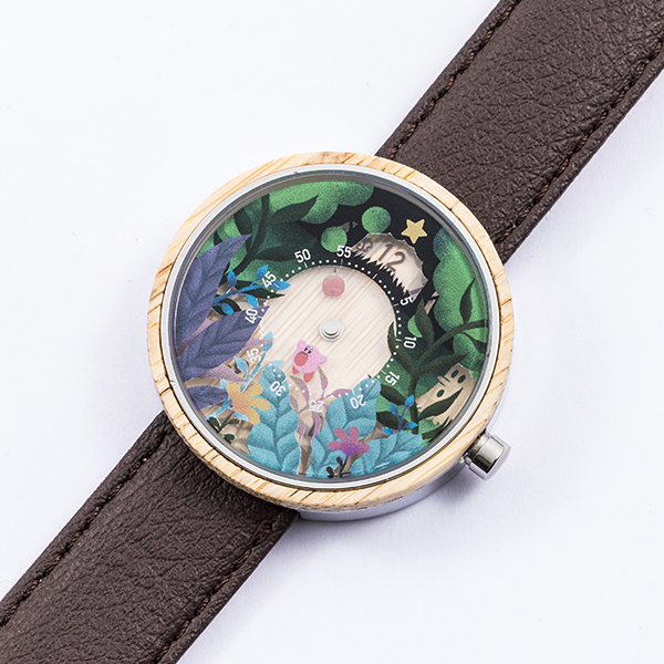 「星のカービィ」×「SuperGroupies」腕時計文字盤
