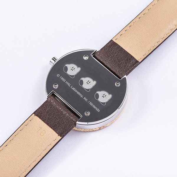 「星のカービィ」×「SuperGroupies」腕時計文字盤裏