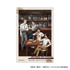「進撃の巨人」×ツリービレッジ ポップアップショップ&コラボカフェ グッズ購入特典:クリアカード