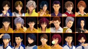 「リョーマ!The Prince of Tennis 新生劇場版テニスの王子様」21人のキャラクター