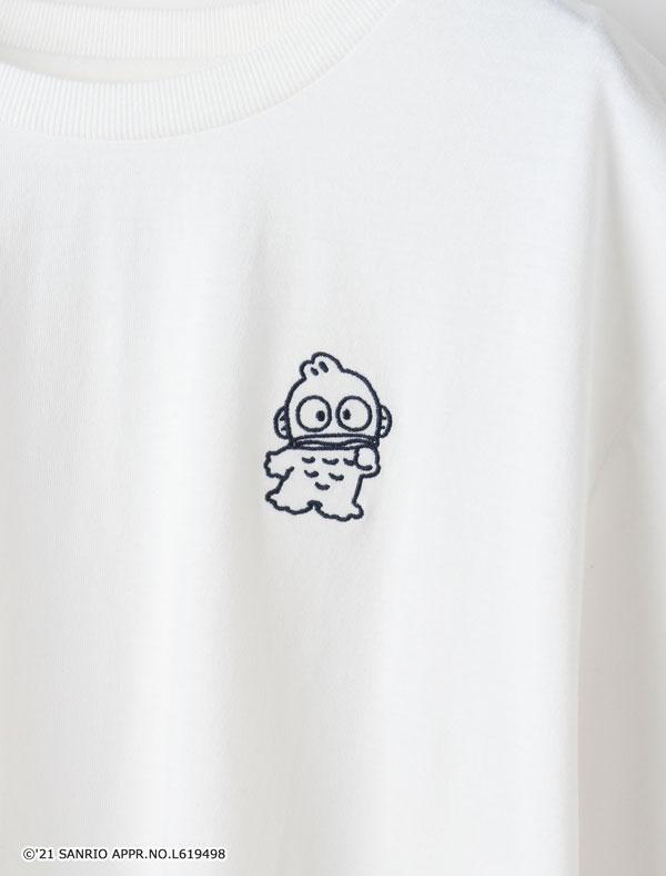 サンリオキャラTシャツ(クロミ・ハンギョドン)オフ×コン