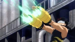 TVアニメ「僕のヒーローアカデミア」第4話「それ行け心操くん!」先行場面カット