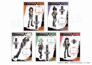 TVアニメ「シャーマンキング」×「マルイ」期間限定ショップ アクリルフィギュアスタンド スーツVer(全5種)