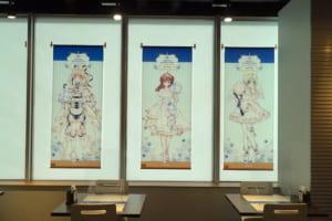 『種村有菜』×アニメイトカフェ内装4