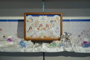 『種村有菜』×アニメイトカフェ グッズ展示