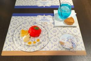 『種村有菜』×アニメイトカフェ「神風怪盗ジャンヌ」天使のペルの実ケーキ「イ・オ・ン」Cheer up♡